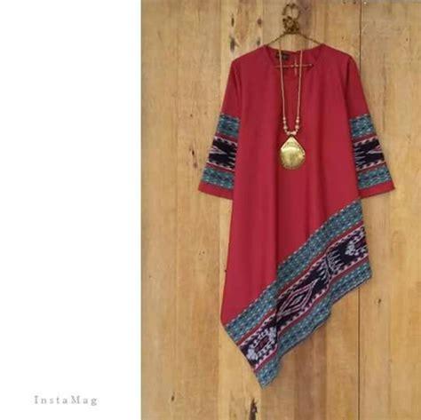 Ririanti Batik Layer Mini Dress best 25 model baju batik ideas on modern