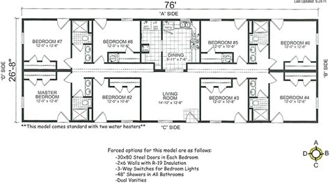 4 5 bedroom mobile home floor plans bedroom wide mobile homes floor plans bestofhouse