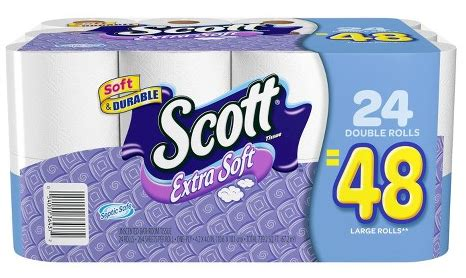 hot target scott extra soft toilet paper      double roll    stores