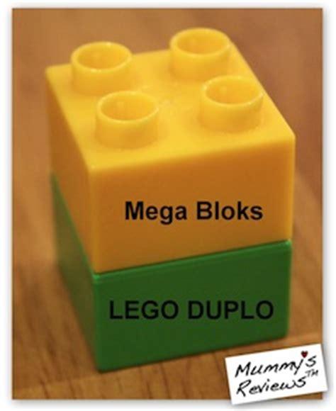 review compare lego duplo and mega bloks maxi and mini