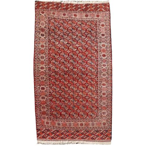 bukhara rug antique turkman bukhara carpet rug for sale at 1stdibs