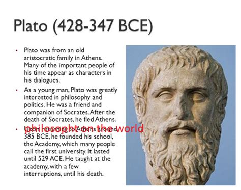 biography plato plato biography philosophy on the world
