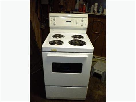 Apartment Oven Repair White Frigidaire Apartment Size Manual Clean Stove