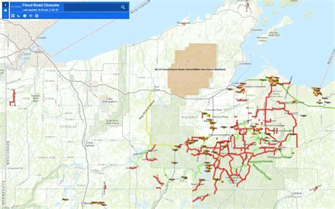 Marathon County Land Records Wisconsin Road Closures Map Wisconsin Map
