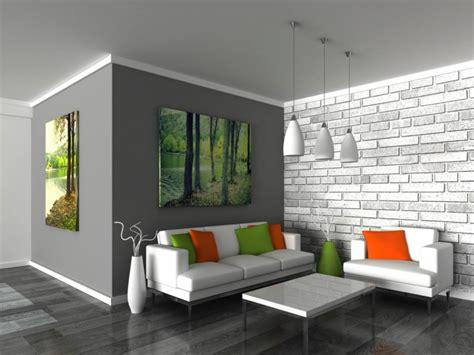 brick feature wall ideas interior brick wall paint ideas
