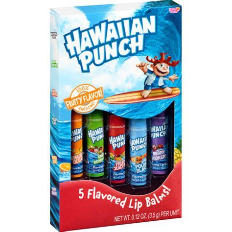 Food Balm lotta hawaiian punch lip balms 0 12 oz 5 count walmart