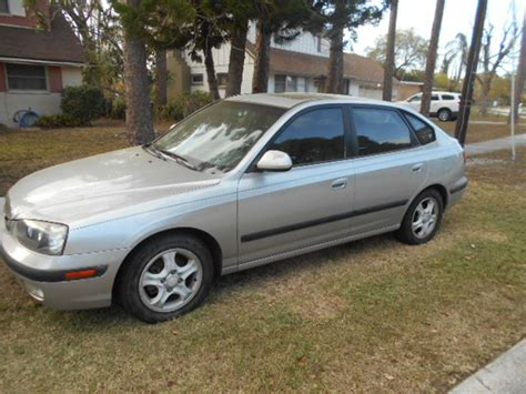 hyundai elantra for sale by owner 2003 hyundai elantra gt for sale by owner in clearwater