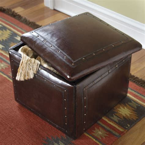 leather hassock ottoman leather storage ottoman leather storage hassock orvis uk