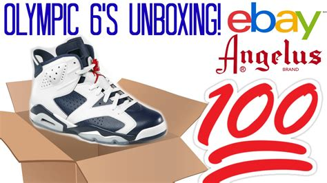 angelus paint unboxing ebay unboxing 2 olympic 6 s and angelis paint