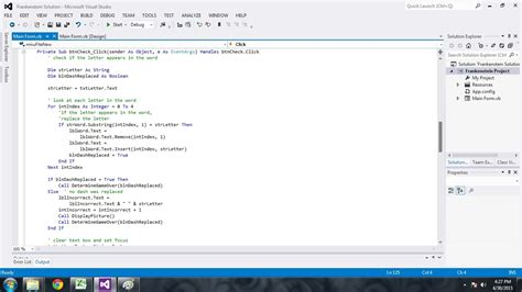 simple visual basic program basic programming www pixshark com images galleries
