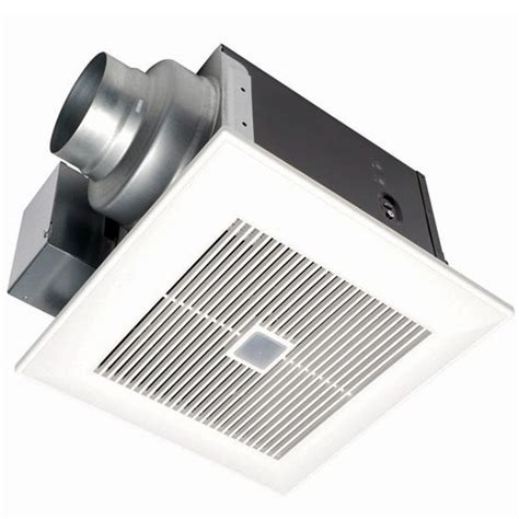 panasonic whisper bathroom fan whispergreen continuous and spot bathroom fan with motion