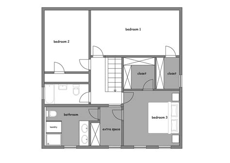 Bedroom Additions Floor Plans Small Home Plans With Master Suite