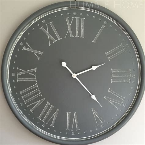 large wall clock large grey wall clock ideas wall clocks