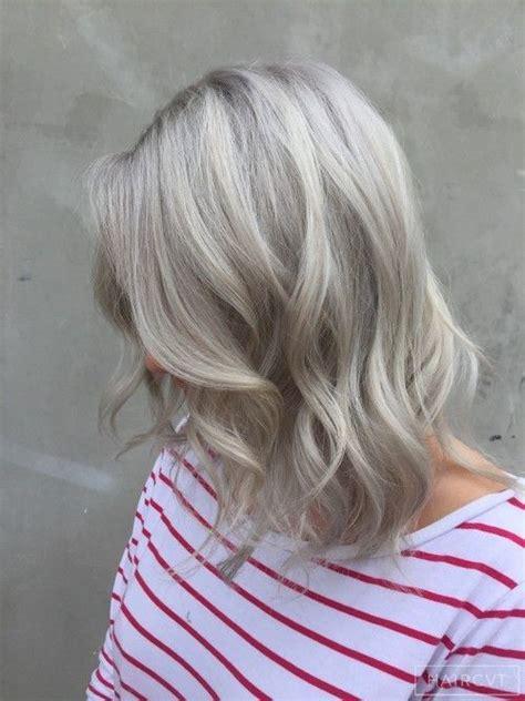 ashblond with silver highlites short hair 1000 ideas about ash blonde hair dye on pinterest dark