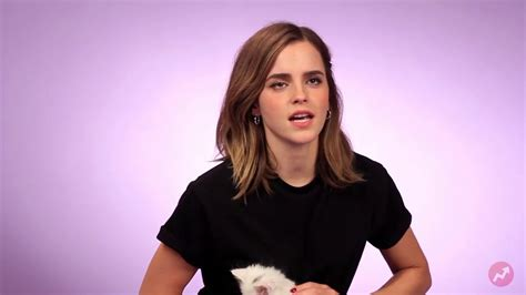 emma watson questions emma watson plays with kittens while answering fan