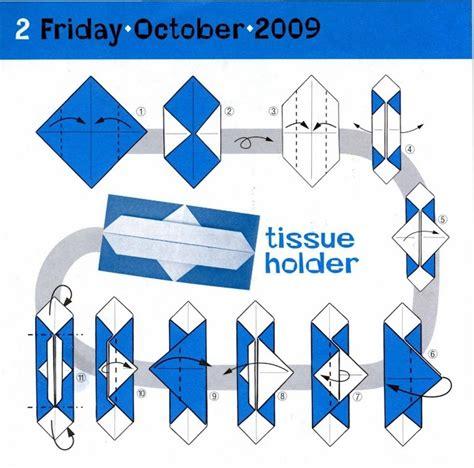 Origami Tissues - easy origami tissue box comot