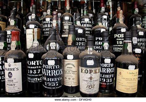 porto wines porto wine shop lisbon portugal stock photos porto wine