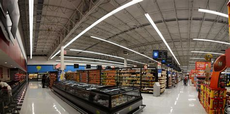 walmart shop light led walmart and ge transforming retail lighting with energy