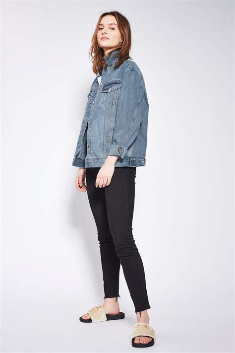 New Oversize Jacket moto oversized denim jacket new in fashion new in