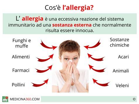 allergia alimentare sintomi allergie tipi sintomi vaccino e rimedi