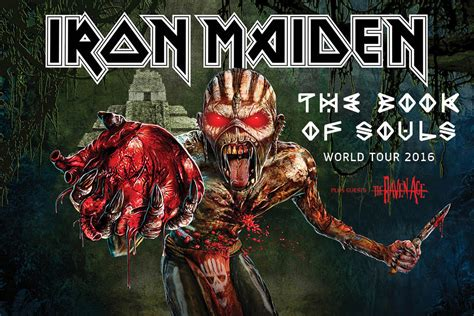 soul 30 years of fandom books iron maiden will open the book of souls world tour in
