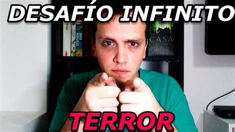 libro desafo max hasta donde desafio infinito libros de terror youtube