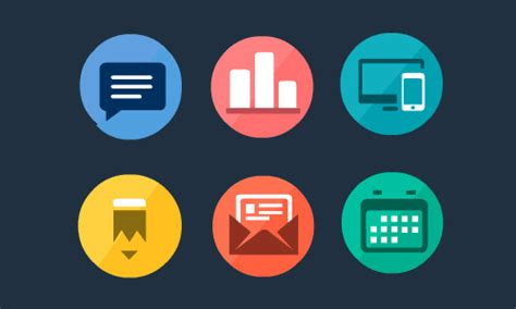 flat design icon download vector flat psd icons free download icons graphic