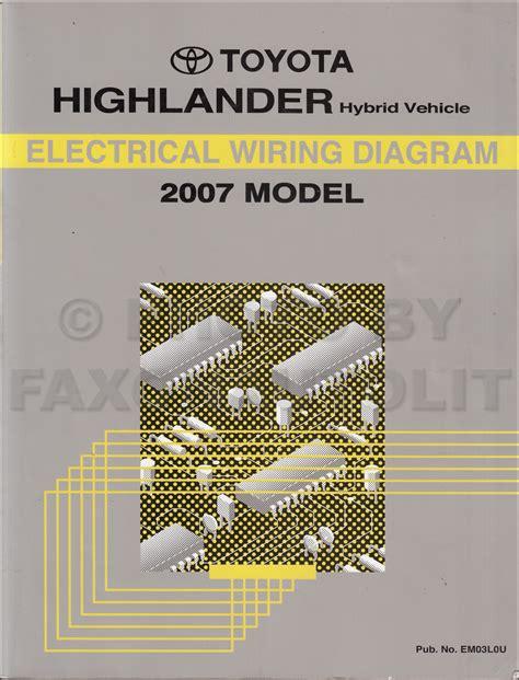 2001 toyota corolla wiring diagram manual original free