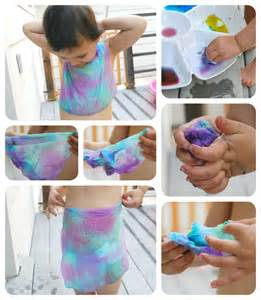 how to tie dye with food coloring for food coloring tie dye