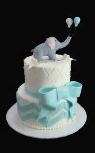 Elephant Baby Shower Cake by Elephant Chevron Bow Baby Shower Cake Butterfly Bake