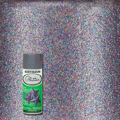 Decorative Ceiling Tiles Home Depot rust oleum specialty 10 25 oz purple glitter spray paint