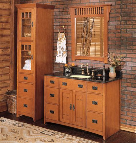 mission style bathroom fairmont designs american themes 36 quot bathroom vanity abode