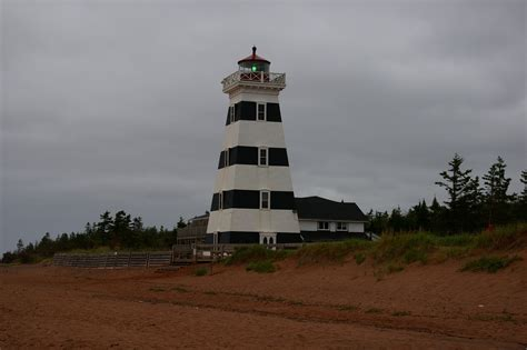 West Point Light by Where Rv Now Into The Maritime Provinces