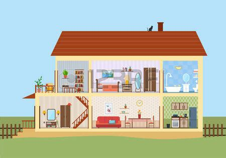 Modern House Clipart (66 )