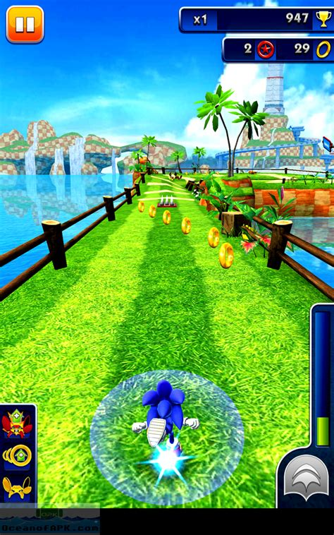 mod android apk sonic dash mod apk free