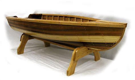 canoe coffee table for sale giesler boats