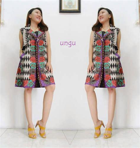 Harga Rompi Batik by Jual Beli Vest Batik Luxe Rompi Batik Modern Baru