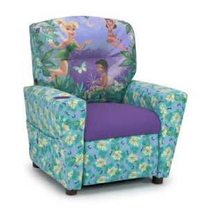 disney fairies child s recliner blue and purple value