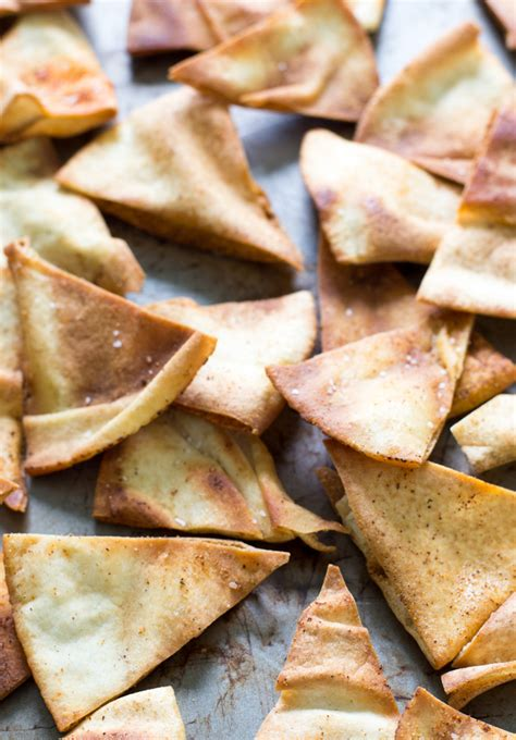 Pita Handmade - spicy pita chips