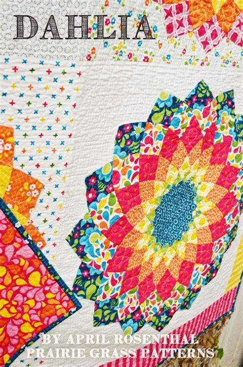Dahlia Quilt Pattern by Dahlia 13