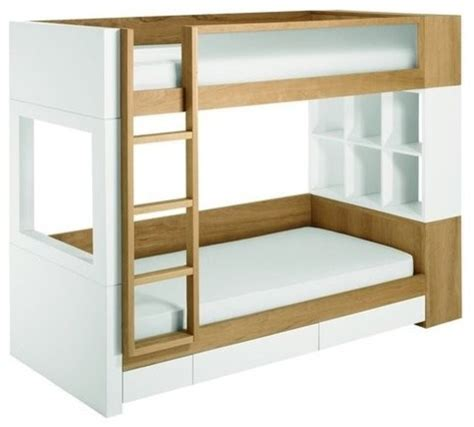 modern bunk bed nurseryworks duet bunk bed modern bunk beds by fawn