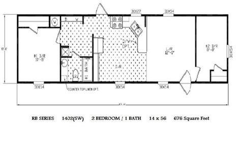 tiney plans single wide mobile home floor plans 14 x 52 garage