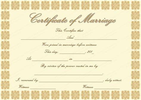 Wedding Certificates Templates | Wedding Certificate Template Free Marriage Certificates Microsoft