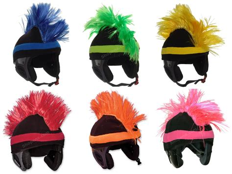 Setelan Nexx 32 H Yellow mental razor mohawk ski helmet covers