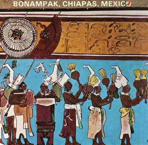 imagenes de murales mayas 31 mejores im 225 genes de murales en bonak chiapas en