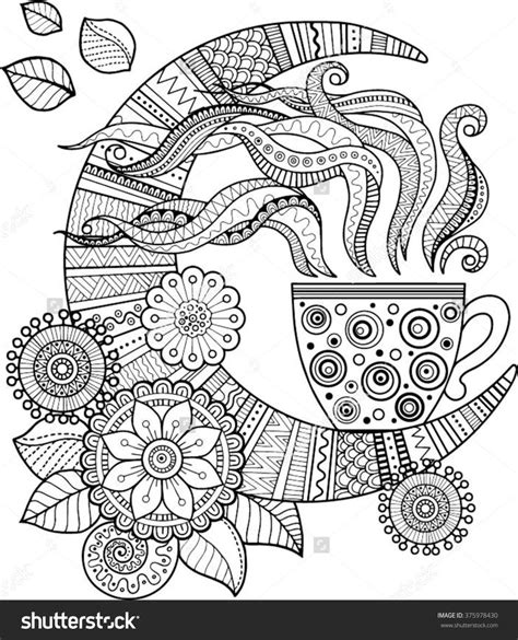 winter a grayscale coloring book books 17 mejores ideas sobre moon mandala en tatuaje