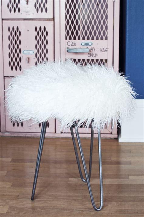 Cheap Faux Fur Stool by 9 Simple Diy Stool Ideas
