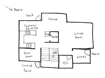 house diagram floor plan draw floor plans