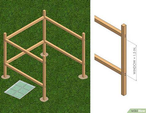 costruire un gazebo 3 formas de construir un cenador gazebo wikihow