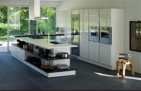 cuisine t駑駻aire cucine con penisola idee cucine open space moderna